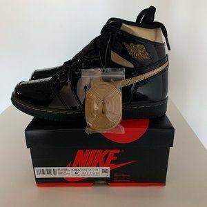 Air Jordan 1 Retro Black Metallic Gold